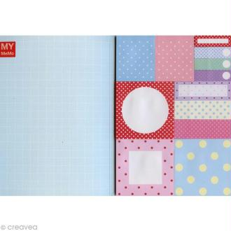Carnet de notes adhesives fantaisies Sticky notes - Pois x 480