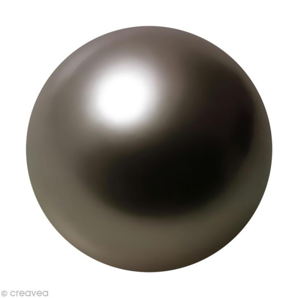 Perle hématite 8 mm x 25 - Photo n°1