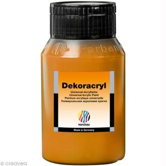 Peinture Acrylique Brillante - Dekoracryl Or 750 ml