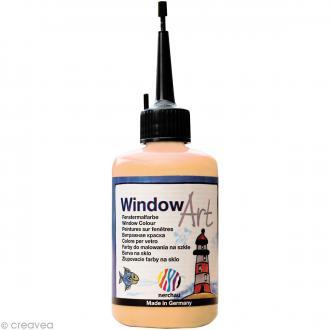 Peinture sur fenêtre - Window Art Or - 80 ml