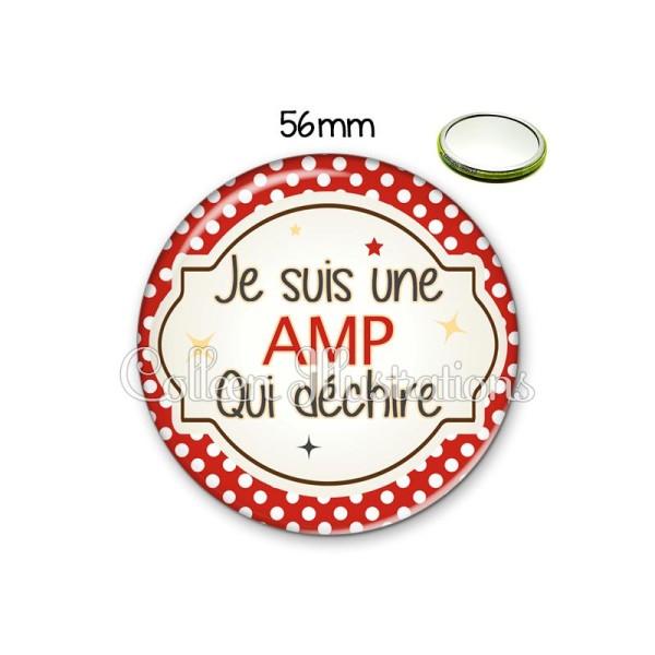 Miroir 56mm AMP qui déchire - Photo n°1