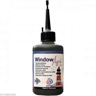 Techniques de base pour le window color peinture for Peinture sur fenetre