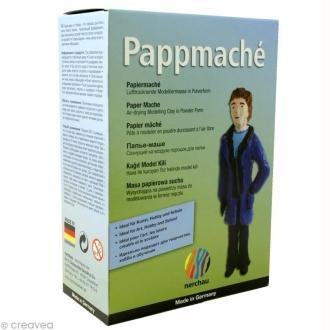 Poudre de papier mâché Pappmaché - 200 g