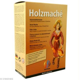 Pâte à bois à modeler Holzmaché - 200 g