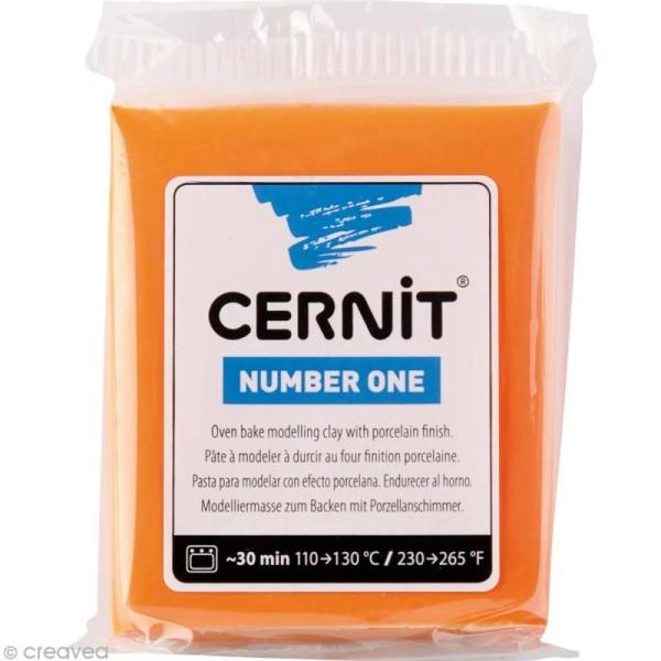 Cernit - Number one - Orange 56 gr - Photo n°1
