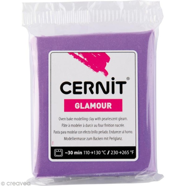 Cernit - Glamour - Violet 56 gr - Photo n°1