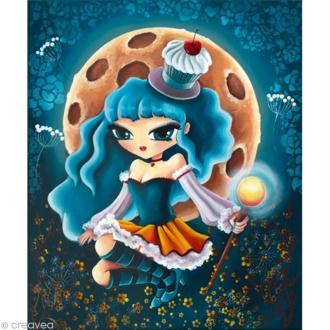 Image 3D Fleur - Miss Cupcake - 30 x 40 cm