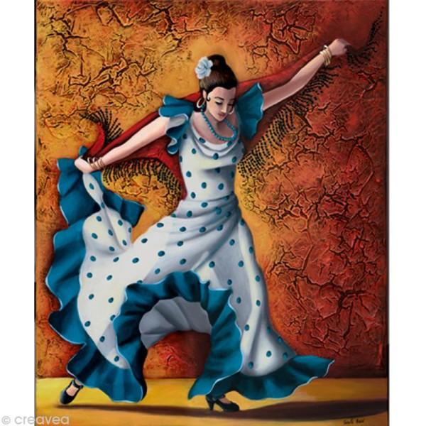 Image 3D Femme - Danseuse flamenco - 24 x 30 cm - Photo n°1