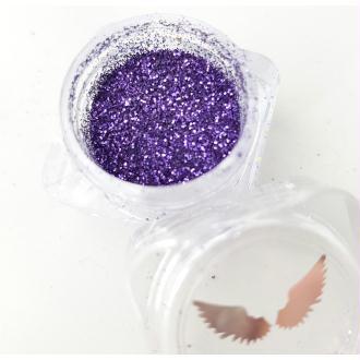 Bio Glitter Mauve paillettes cosmétique biodégradables