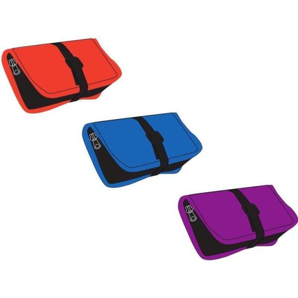 1 Fourre-tout double compartiment à Velcro - Couleur aléatoire - Photo n°1
