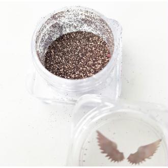 Bio Glitter Bronze paillettes cosmétique biodégradables