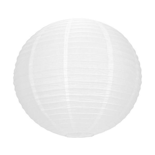Grand Lampion Boule chinoise blanche, Lanterne japonaise, 50 cm de diamètre, à suspendre - Photo n°1