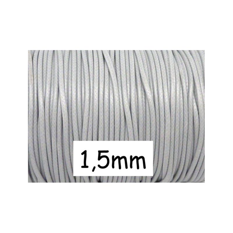 5m cordon polyester enduit souple 1 5mm imitation cuir for Carrelage gris clair brillant