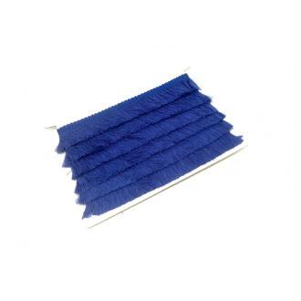 50cm De Galon Frange  De Couleur Bleu Roi En Polyester Et Coton