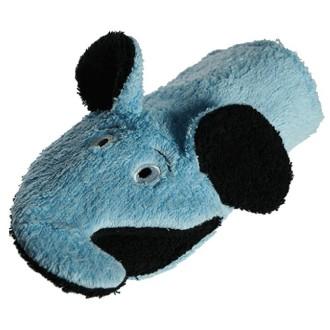Gant de toilette éléphant bleu en coton