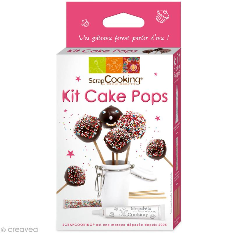 Kit cuisine cr ative cake pops coffret cuisine - Coffret cuisine creative ...