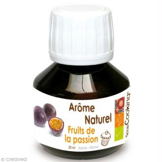 Arôme naturel alimentaire Fruits de la passion 50 ml