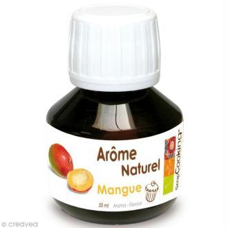 Arôme naturel alimentaire Mangue 50 ml