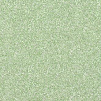 Tissu coton fines feuilles - Vert- Par 50cm