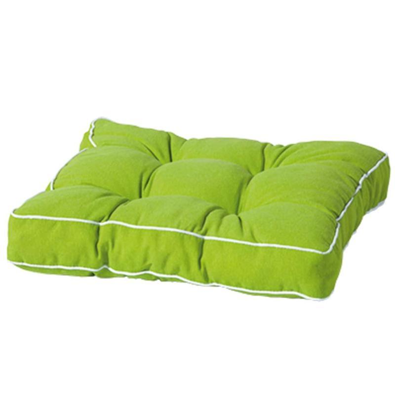 Madison coussin de si ge panama 47 x 47 cm vert florb228 - Coussins pour fauteuil de jardin ...