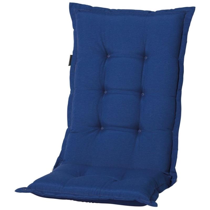 madison coussin de chaise d 39 ext rieur panama bleu saphir. Black Bedroom Furniture Sets. Home Design Ideas