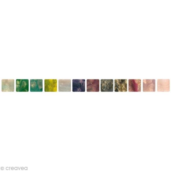 Mosaïque résine Marbre x 150 gr - Photo n°1