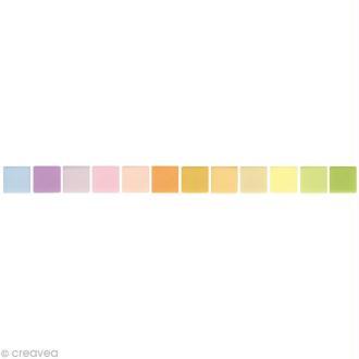 Mosaïque résine Opaque pastel x 225 gr