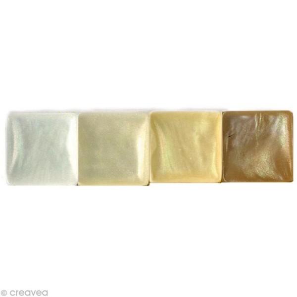 Mosaïque résine Coquillage ivoire x 150 gr - Photo n°3
