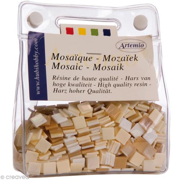 Mosaïque résine Coquillage ivoire x 150 gr - Photo n°6