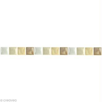 Mosaïque résine Coquillage ivoire x 150 gr