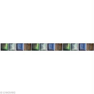 Table mosa que multicolor cr ation mosa que de - Mosaique miroir autocollante ...