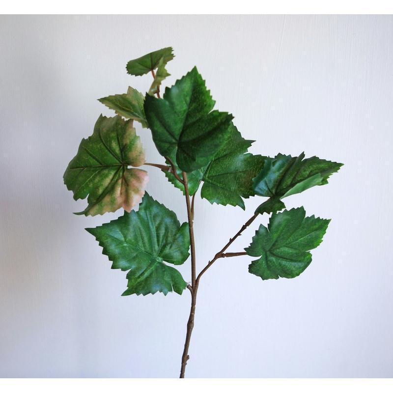 Vigne artificielle h40cm branche de feuilles fleurs for Plante grimpante artificielle exterieur