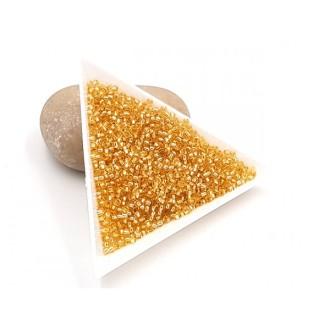 5 Grammes De Perles Miyuki Rocailles 11/0 Silver Lined Gold 0003