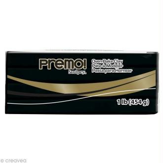 Pâte Sculpey Premo Noir - 454 gr