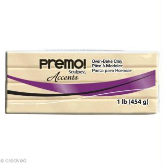 Pâte Sculpey Premo Accent perle - 454 gr
