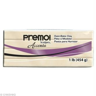 Pâte Sculpey Premo Accent translucide - 454 gr