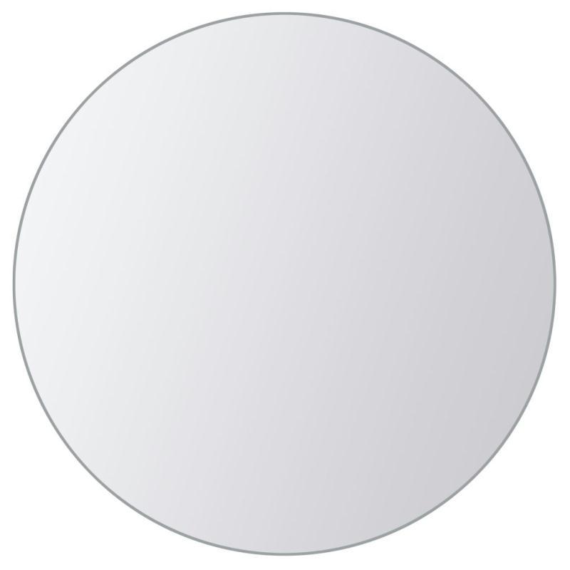 Vidaxl carreau de miroir 8 pcs rond verre miroir adh sif for Regarde toi dans un miroir