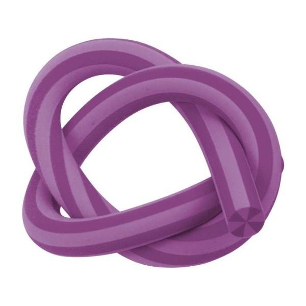 Gomme serpentin - Violet - Longueur : 33 cm - Photo n°1