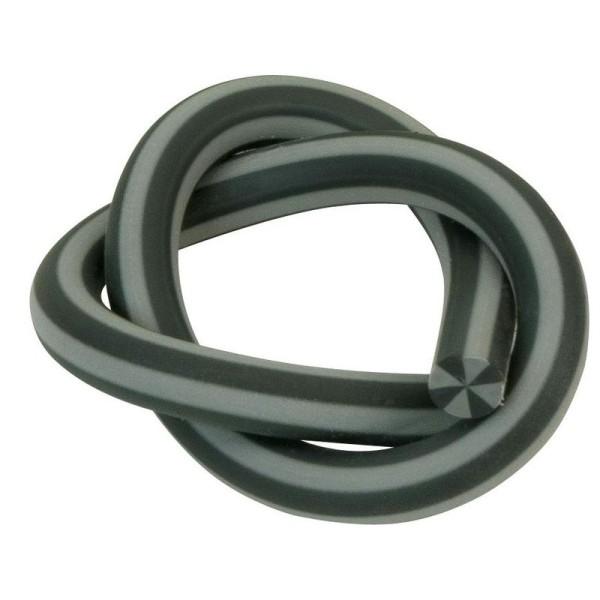 Gomme serpentin - Noir - Longueur : 33 cm - Photo n°1