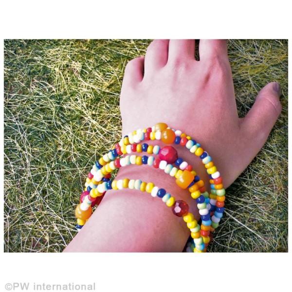 Bracelet fil mémoire - 6 mm -  5 tours - Photo n°2