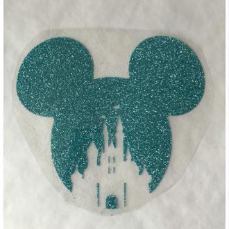 Motif thermocollant Mickey château