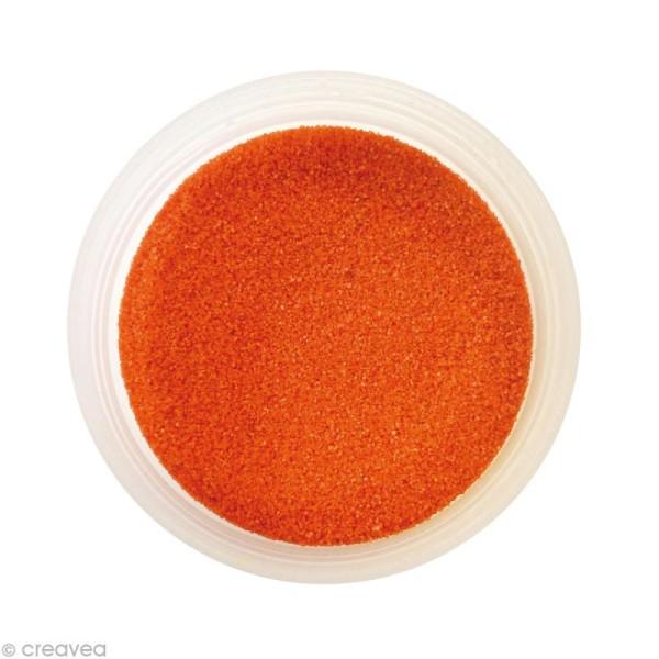 Sable fin coloré - Orange tuile 16 - 45 gr - Photo n°1
