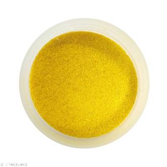 Sable fin coloré - Jaune ocre 9 - 45 gr