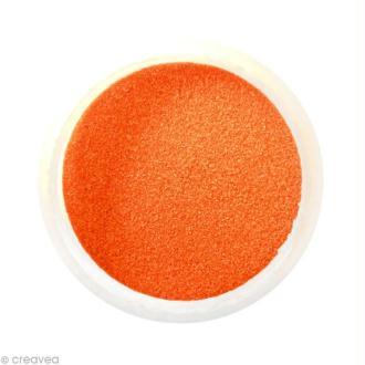 Sable fin coloré - Orange foncé 34 - 45 gr