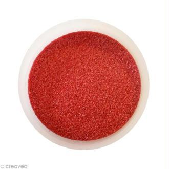Sable fin coloré - Grenat 42 - 45 gr