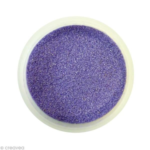 Sable fin coloré - Lilas pastel 17 - 45 gr - Photo n°1