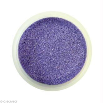Sable fin coloré - Lilas pastel 17 - 45 gr