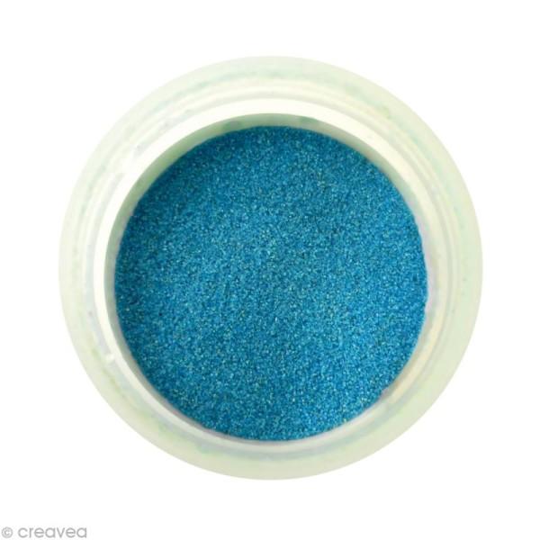 Sable fin coloré - Bleu turquoise 1 - 45 gr - Photo n°1