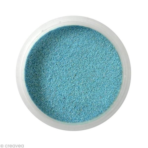 Sable fin coloré - Bleu ciel 13 - 45 gr - Photo n°1