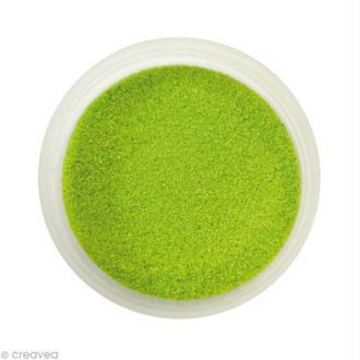 Sable fin coloré - Vert olive clair 27 - 45 gr